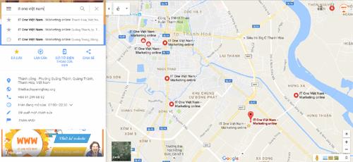 bản đồ doanh nghiệp